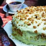 Black Walnut Apple Cake