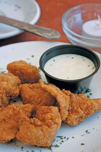Fried Gator Tails - Southern Twist Restaurant