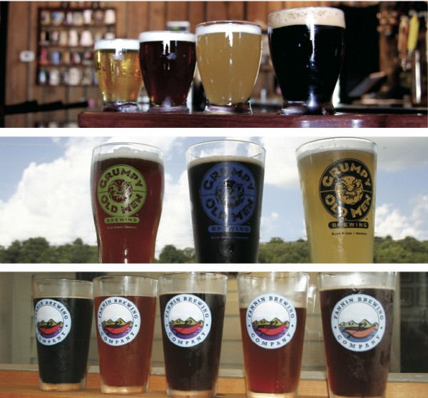 Three Brews - Craft Breweries in North Georgia.