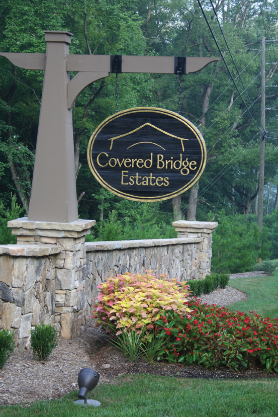 Craftsmen Style Luxury Homes at Covered Bridge Estates
