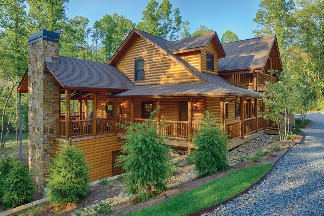 Fall with satterwhite log homes appalachian country living for Appalachian mountain cabins