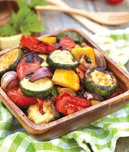 Tuscan Grilled Zucchini & Summer Squash
