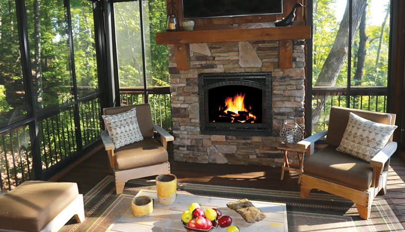 Outdoor living indoor comfort appalachian country for Outdoor living magazine