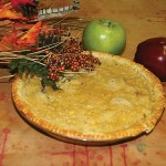 Apple Pie with Topping
