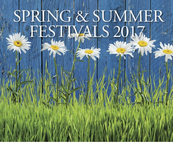 2017 Spring & Summer Festivals for North Georgia
