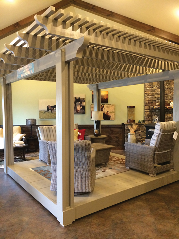 Southern comfort from outdoor living indoor comfort for Outdoor living magazine