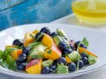 6 Blueberry Peach and Avocado Salad