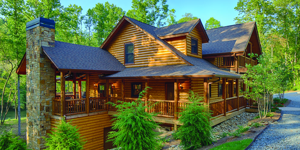 Apple time with satterwhite log homes appalachian for Log home magazines
