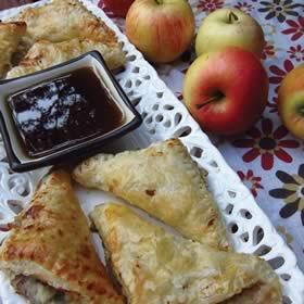 Apple Walnut Gorgonzola Turnovers