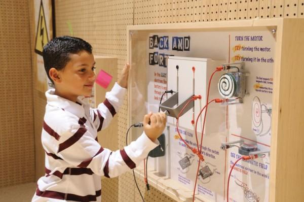 Tellus Museum - Electricity Exhibit