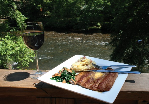 Toccoa Riverside Restaurant Pecan Crusted Trout