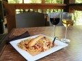 Smoked Trout Pasta at Toccoa Riverside Restaurant