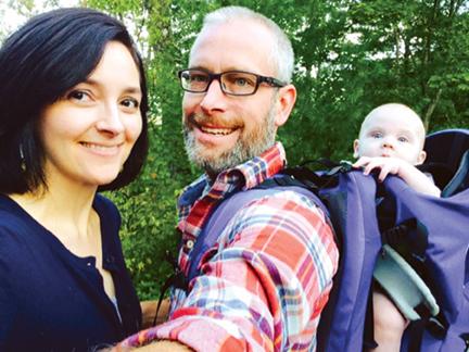 Blue Ridge Mountain Baby Hikes - Dunn Family