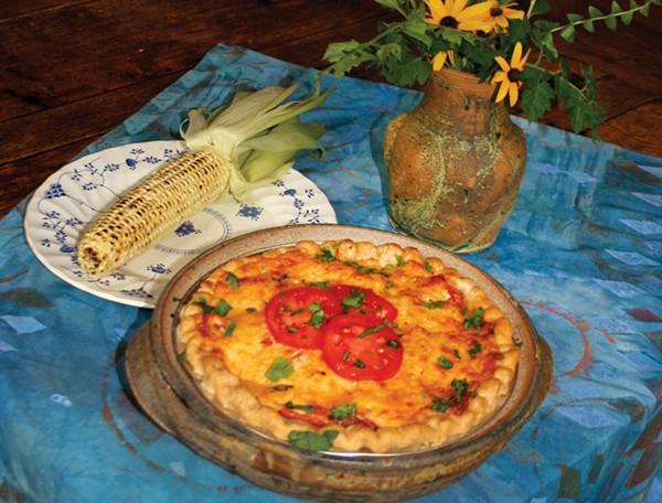 Savory Summer Tomato Pie