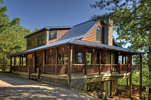 My mountain cabin rentals an escape to the best of for Cabins near mount magazine